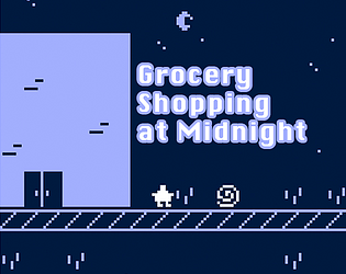 Grocery Shopping at Midnight