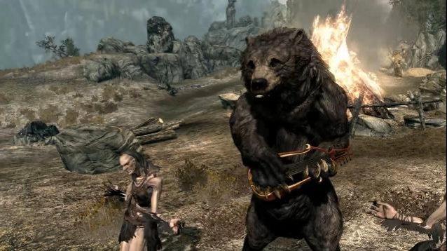 bear-musician-skyrim
