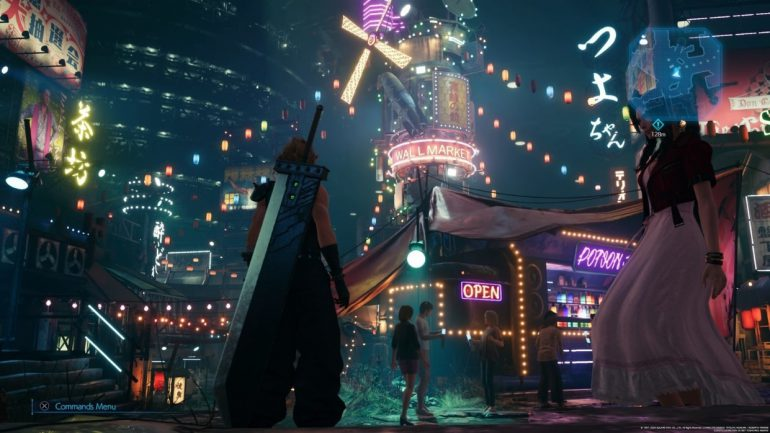a screenshot from the final fantasy 7 remake