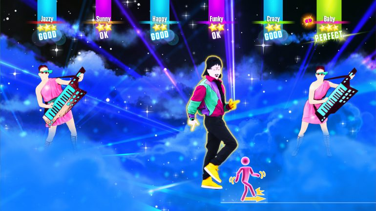 a screenshot from the game just dance